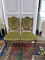 XVI. Lajos stílusú antik kárpitos szék