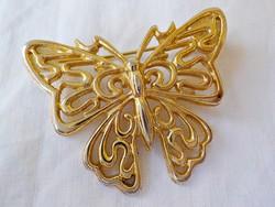 Lepke, pillangó bross, kitűző