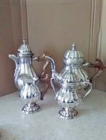 Antik ezüst teáskészlet 800 Olasz Csere is erdekel !