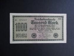 Németország - 1000 márka 1922