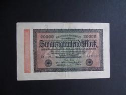 Németország - 20 márka 1923