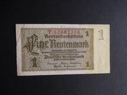 Németország - 1 rentenmark 1937