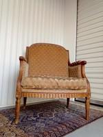 Antik  karfás fotel