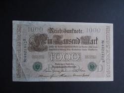 Németország - 1000 márka 1910 (zöld pecsét)