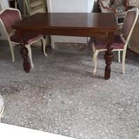 Antik nagy dolgozó asztal