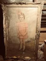 Zobor Jenő 1935 antik festmény
