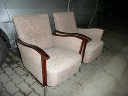 2 db nagyon ritka designe fotel az 1960-as évekből tökéletes, újszerű állapotban