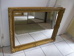 Gyönyörű régi tükör 94 x 75 cm.