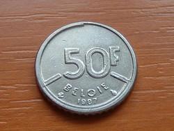 BELGIUM BELGIE 50 FRANK 1987  S+V