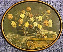 Rózsacsokor, barokk csendélet