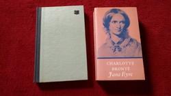 4 KÖNYV EGYÜTT,KIVÁLÓ MŰVEK,SZÉP ANTIK AJÁNDÉK,Charlotte Bronte:Jane Eyre / Mauriac:Tékozló szív,stb