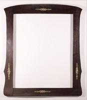 Art - decó tükörkeret aranyozott  díszítéssel