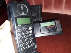 2db TECHNIKA TÖRTÉNETI RÉGISÉG EGYÜTT:KEZDETI IDŐKBŐL RÁDIÓ TELEFON + SZEMÉLYHÍVÓ,SZÉP ANTIK AJÁNDÉK