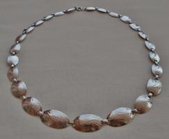 Különleges antik ezüstnyakék