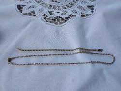 Aranyozott nyaklánc és karkötő
