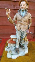 Rendkivul ritka Capodimonte szobor