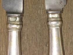 Antik ezüst nyelű kések 1848 !!!!!!!!!!!!!