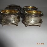 19.sz.-i ezüst fűszertartók..