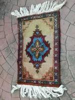 4 db kis kézi csomózású szőnyeg