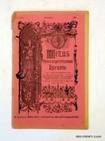 1916 november  /  JÉZUS SZENTSÉGÉNEK SZÍVÉNEK HÍRNÖKE  /  RÉGI EREDETI ÚJSÁG Szs.:  5452