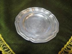 Ón tányér  ,jelzett,  92   mm