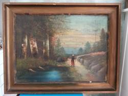 Bieder festmények párban