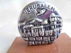 Izraeli 925-ös ezüst dísz: Jerusalem