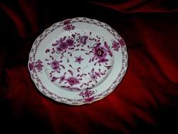Meisseni porcelán  ritka  Waldostein mintával tányér
