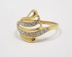 Arany köves gyűrű (ZAL-Au70873)