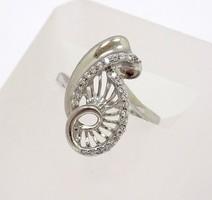 Köves ezüst gyűrű (ZAL-Ag53490)