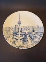 Retro Meissen -i falitányér. Berlin