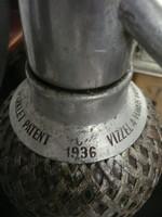 Ritka automata szódaszifon 1936-ból minden tartozékával, működő állapotban