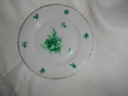 Hüttl Tivadar rózsa mintával tányér 23 cm