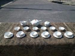 Herendi 12 személyes teás készlet.