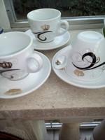 Porcelán teáscsészék