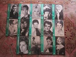 1967 FILM SZIHÁZ MUZSIKA 14 DB RUTKAI ÉVA - MARCELO MASTROIANI - TOLNAI KLÁRI - VÁRADY HÉDI