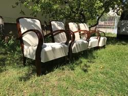Gyönyörűen felújított art deco fotelek