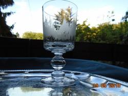 Impozáns Talpas Bieder pohár-15 cm,-285 g