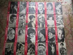 1967 FILM SZIHÁZ MUZSIKA 24 DB TÖRÖCSIK MARI - DOMJÁN EDIT- DARVAS IVÁN - LATINOVITS - LEHOCZKY