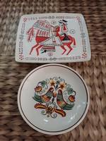 Hollóházi fali tányérok