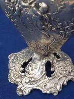Antik ezüst váza- egyedi ötvös munka
