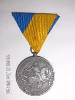 A Magyar Délvidék Visszafoglalása Emlékére kitüntetés 1941 Jelzett Berán