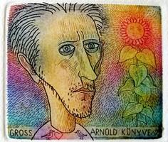 Gross Arnold: Gross Arnold könyve rézkarc