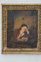 Szüle Péter - Olvasó nő