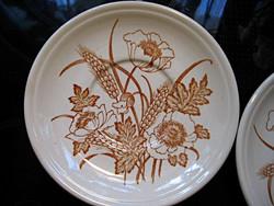 Pipacsos Biltons angol alátét tányér