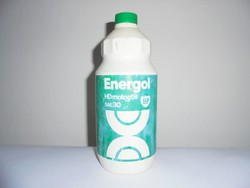 Retro ENERGOL motor oli motorolaj olaj műanyag flakon - 1982-es