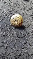 """Bronz gomb 1,6 cm átmérő """"Regiment"""" felirattal"""
