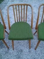 Retro szék a 60-as évekből - jó formájú masszív fa székek 7800.-/db áron eladó