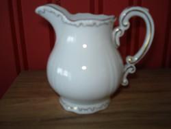 Zsolnay barokk kávés tejszínes kiöntő