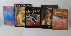 12 db művészettörténeti könyv, gyönyörű képekkel, Német nyelvű